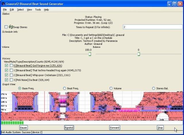 Gnaural full screenshot