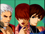 Z10 playing The King of Fighters 2002.