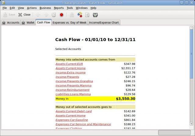 WatFile.com Download Free Cash Flow Report (Windows)