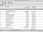 Chart of Accounts (Mac)
