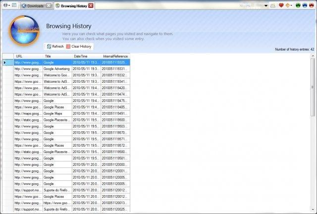 Full Goona Browser screenshot