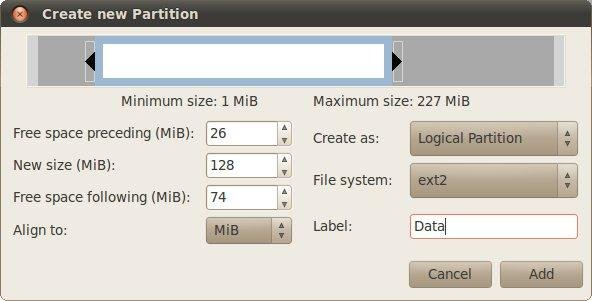 GNU PARTITION EDITOR