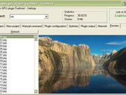 Terragen frontend displays computed virtual landscapes