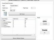 Calculate Course GPA