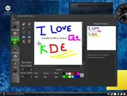 Graffiti on Fedora 10 (KDE)