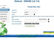 Create New User in Administration Interface