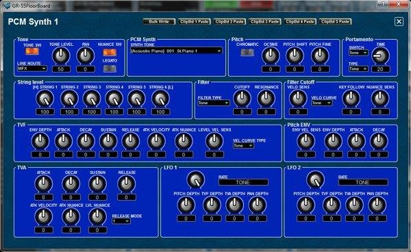 PCM Synth edit-page