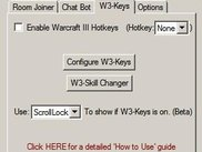 W3-Keys main tab