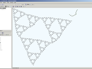 Sierpinski triangle, depth 5