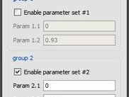 Data item groups and group selection
