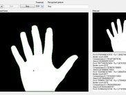 Detection of the Stop gesture.