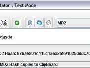 MD5 Hash calculated in Text Mode