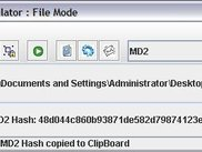 MD5 Hash Calculated in File Mode