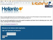 1. Helianto login