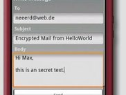 Write an Encrypted E-Mail (via PublicKey)