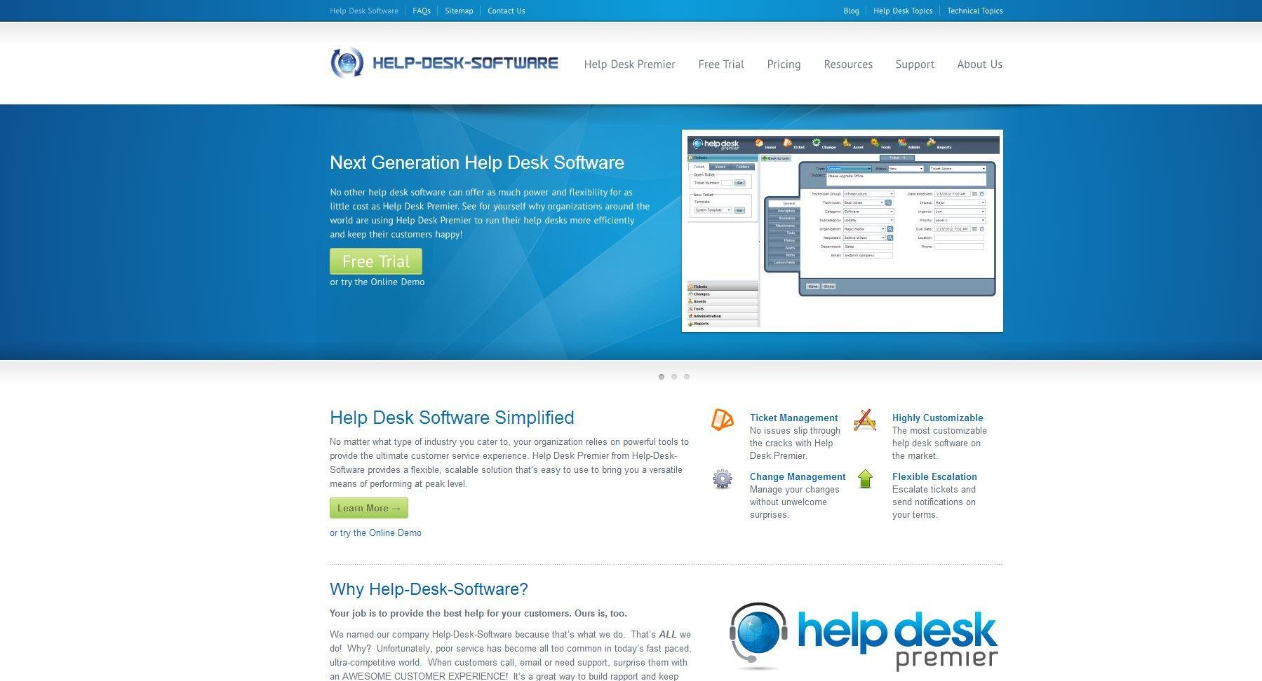 Help Desk Software SourceForge.net. Full resolution  image, nominally Width 1799 Height 972 pixels, image with #0D63A1.