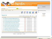 herdinneon screenshot [logged-in list interface]