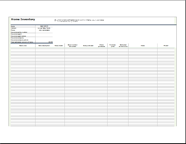 Business inventory list template inventory list office templates inventory list templates free download checklist equipment inventory list template sample form inventory list template pronofoot35fo Choice Image