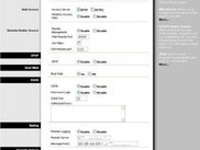 administration web gui