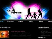 "HTML5 editor - ""Club Runner"" Theme"