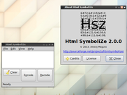 Html SymboliZe, Linux release, version 2.0.0