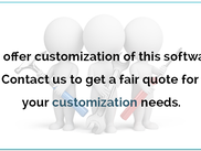 Paid Customization Services Available