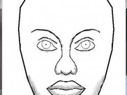 A poor quality but proportioned composite face ...
