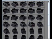 ImageCropper after cropping animation frames of a tank