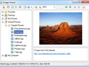 Main window of program Image Viewer .NET