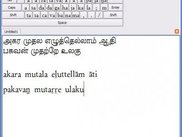 Tamil text transliterated to RomanTrans on Windows