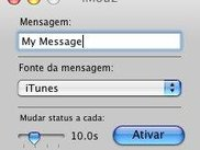 iModz in Portuguese on Mac OS 10.4.7