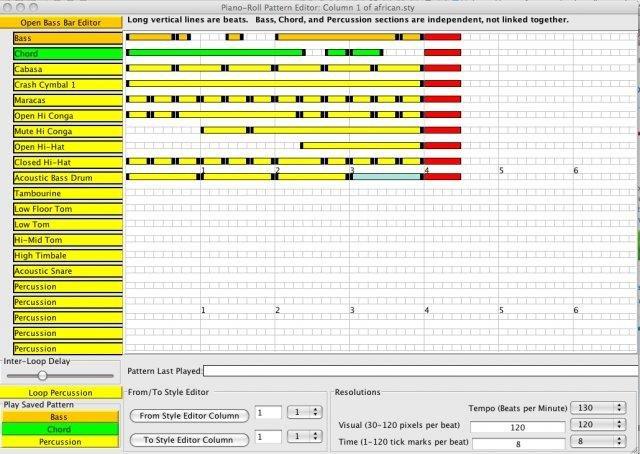 Style Pattern Editor
