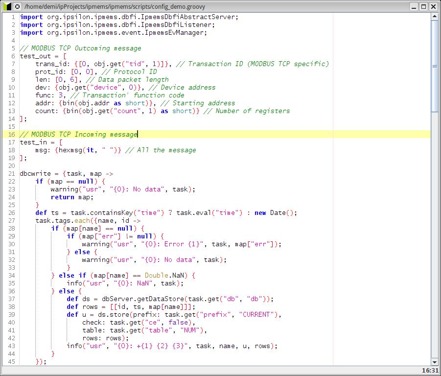 Binary protocol parsing