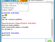 ISIM chat form