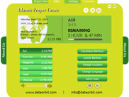 Prayer time software