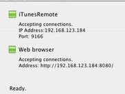 iTunesRemote Server 0.4.0