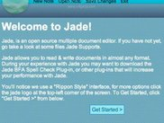 Jade - Mac - Welcome Screen