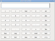 Java-Calculator