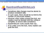 Reentrant Read Write Lock Slide