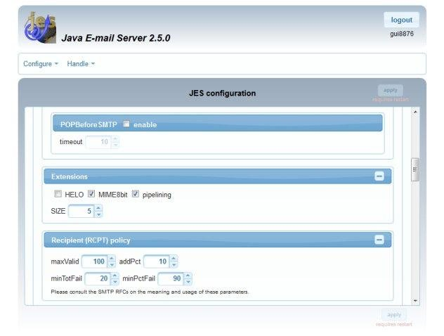 how to connect computer to send email from localhost java