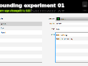 Experiment01 application screen