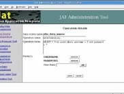JAT v.1.2 Admin tool: Data Sources