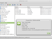 JDiskCat 1.3.0 under Linux Mint 13 (Cinnamon 1.4 desktop environment)