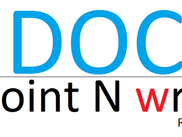 Point docx document and write