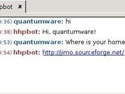 Chatting with hhpbot