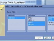 Score Download Wizard