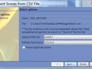 CSV Import Wizard