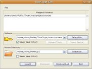 TrueCrypt GUI for Linux