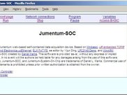 Front page of Jumentum-SOC web