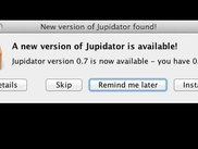 Compact Jupidator interface
